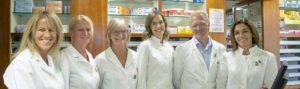 farmacisti e staff farmacia dell'asilo Susa