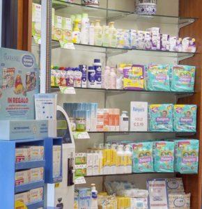 alimenti e prodotti per l'infanzia farmacia dell'asilo Susa