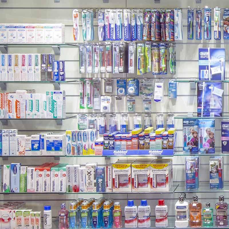 igiene orale farmacia dell'asilo di Susa