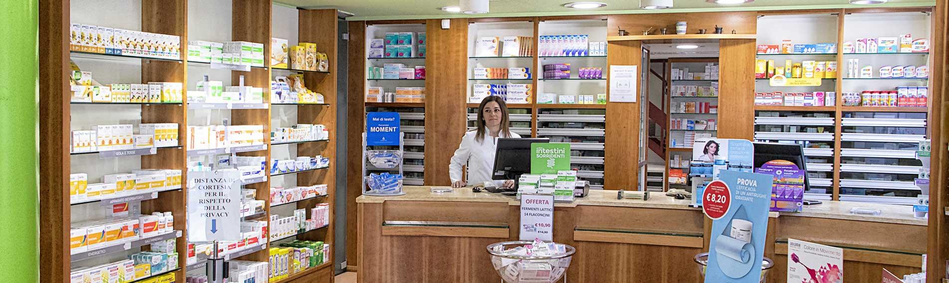 Farmacia dell'asilo di Susa - reparti e servizi