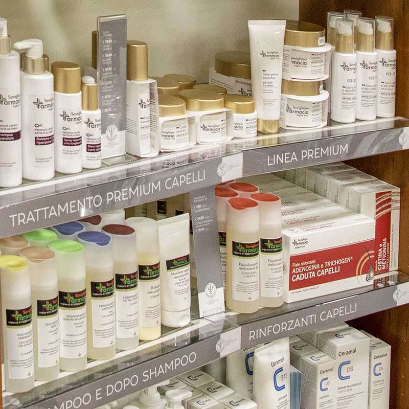 dermocosmesi e make up farmacia dell'asilo di Susa
